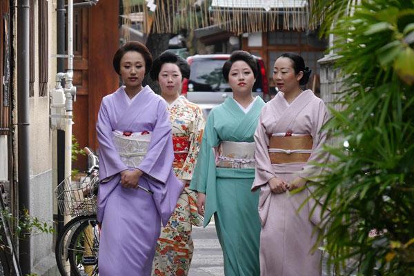 barrios de geishas