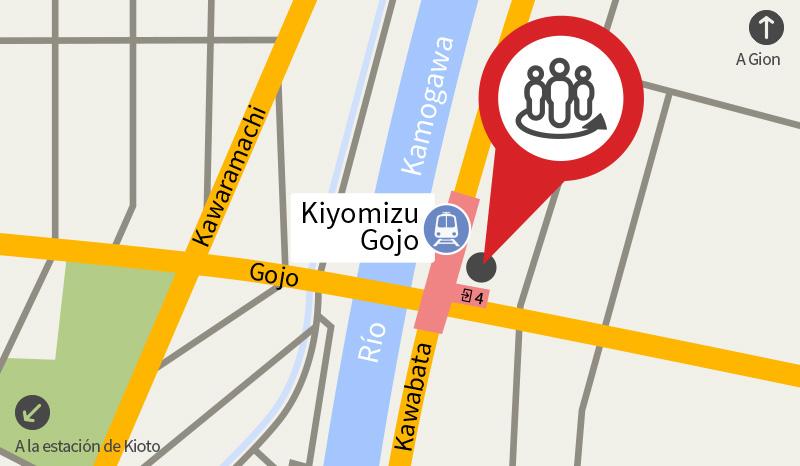 Punto de Encuentro los Hanamachi de Kioto