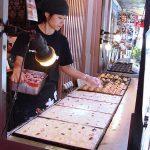 Takoyaki en en Dotonbori