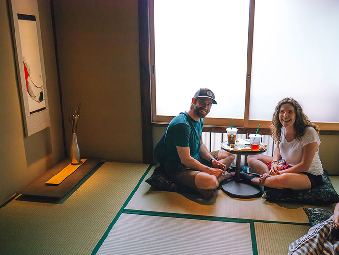 Starbucks con Tatami