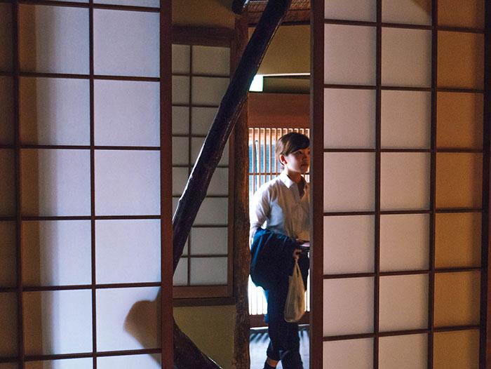 Entrada del Starbucks de Kioto