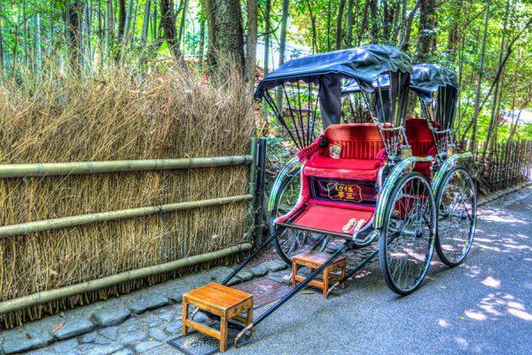 Rickshaw por Arashiyama